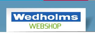 Wedholms webshop